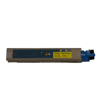 OKI 43459353 (C3300/C3400/C3600) Yellow High Yield Compatible Toner Cartridge