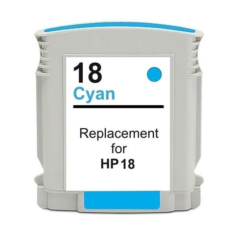 18 #18 Cyan High Capacity Remanufactured Inkjet Cartridge