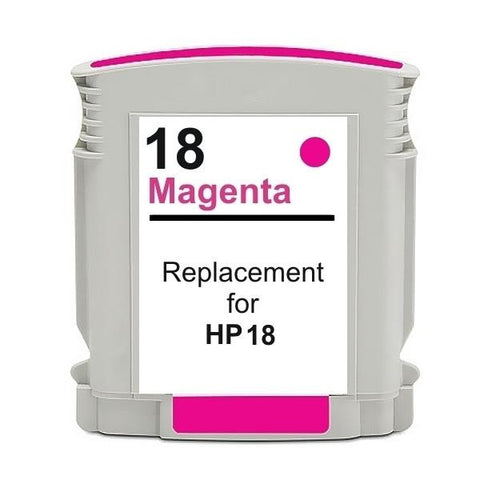 18 #18 Magenta High Capacity Remanufactured Inkjet Cartridge