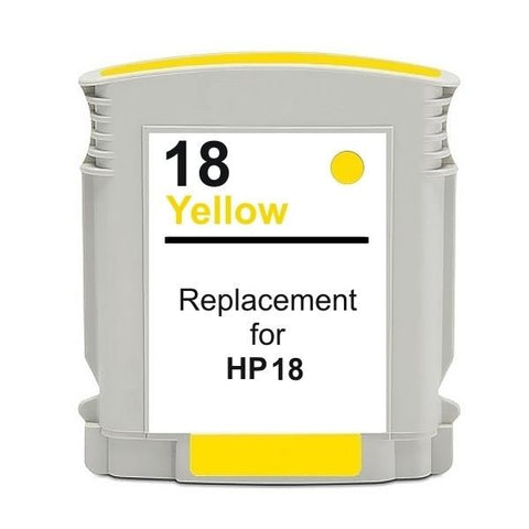 18 #18 Yellow High Capacity Remanufactured Inkjet Cartridge