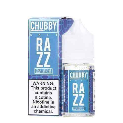 Chubby Bubble Salt Bubble Razz Ejuice - eJuice.Deals