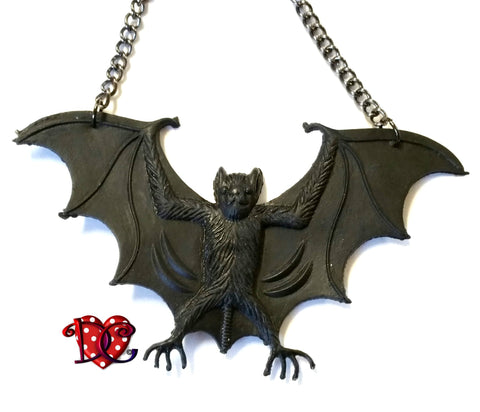 DEiTY BLOODBAT NECKLACE - (also available without 'blood'!)
