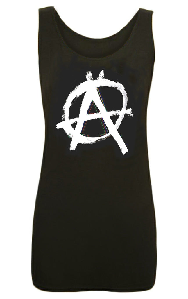ANARCHY BLACK TANK DRESS