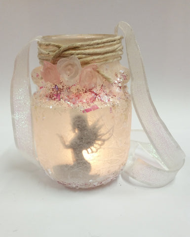 PASTEL FAERiE DEiTY JAR (NiGHTLiGHT)