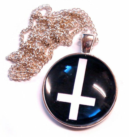 INVERTED CROSS NECKLACE