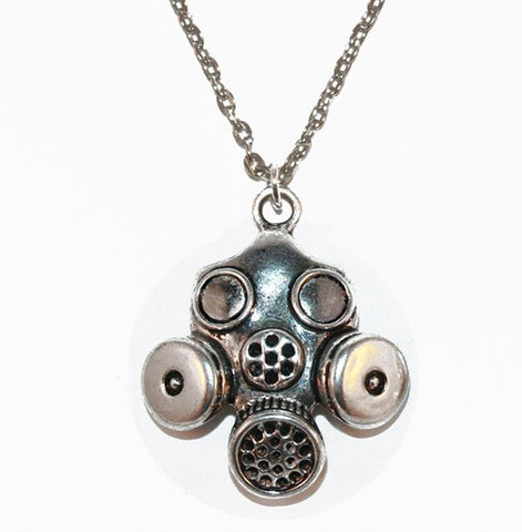 GASMASK NECKLACE