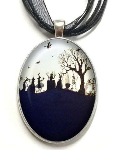 DEiTY WiTCH's PARTY CAMEO NECKLACE