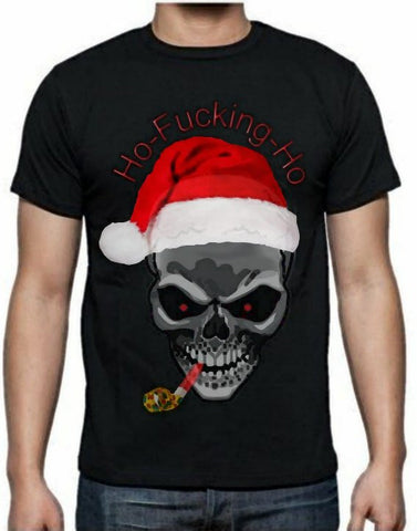 MENS XMAS FUN TSHiRT - available in Black or White
