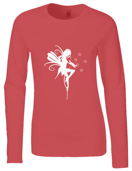 DEiTY FAERiE SiLHOUETTE LS TOP - available in Black, White or Red