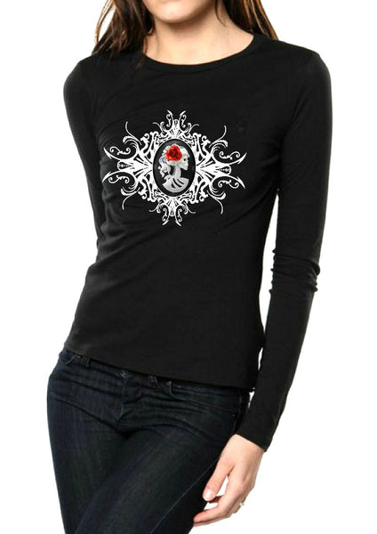 LOLLITA SKULL VEST (also available LONG-SLEEVE TOP)