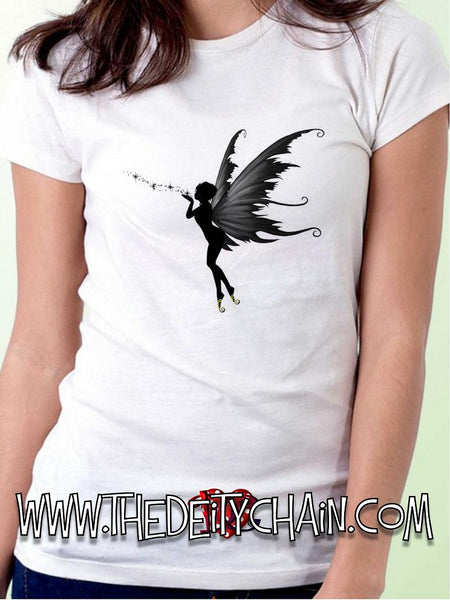 ENCHANTED FAERIE TSHIRT - available in Black or White