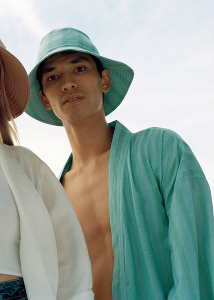 Sunday Unisex Robe Sea