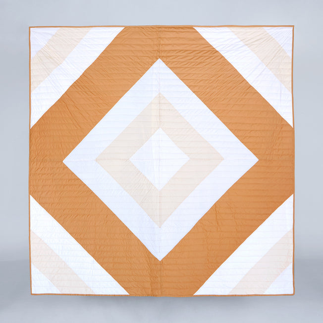 Diamond Bed Quilt