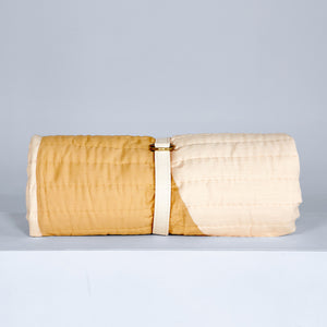 Luna Silk Khadi Bed Quilt