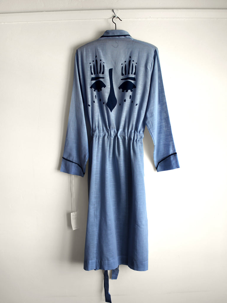 Blue Face Robe