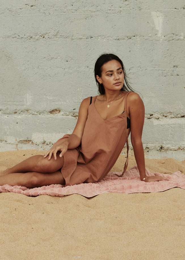 Sloane Dress - Clay