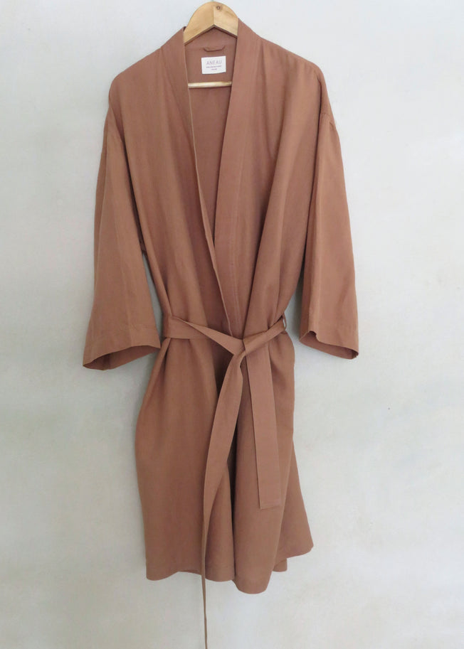 Sunday Unisex Robe Clay