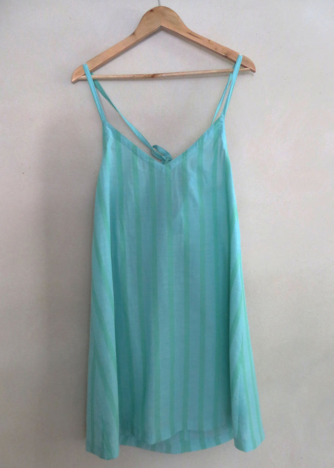 Sloane Tie Back Dress Sea