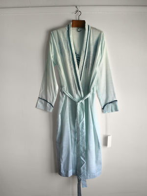 Sage Leaf Organic Cotton Robe