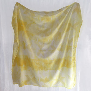 Lemon Star Shibori Baby Swaddle