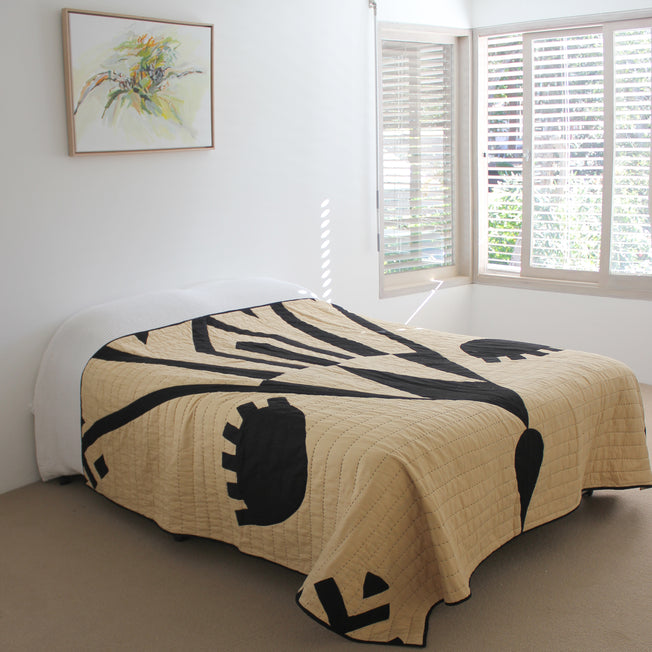 Eye Bed Quilt
