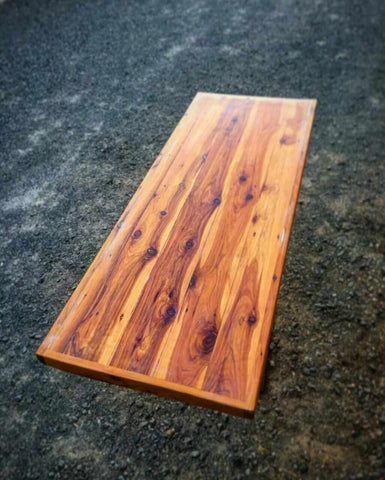 Cypress Pine Kitchen Bench Top Set