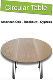 Circular Timber Table Top | 1,100mm Round