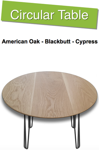 Circular Timber Table | 4 to 10 Seater