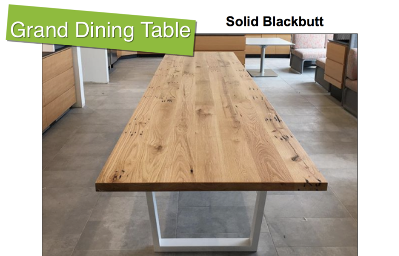 Grand Timber Dining Table | Custom orders