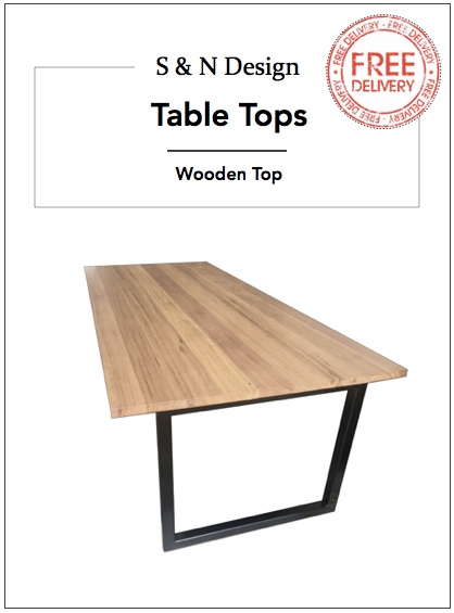 1200mm - Industrial Dining Table - Sandndesign
