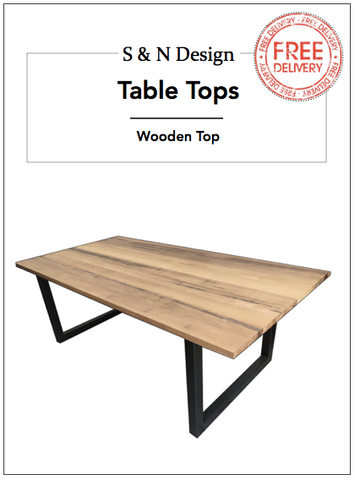 1200mm - Industrial Dining Table