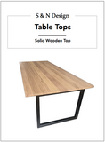 Table Tops - Wooden Top