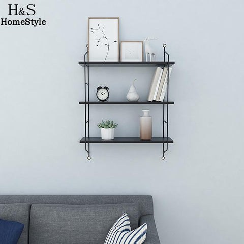 Storage Tiers Rustic Floating Book Shelves Wall Mounted Industrial Wall Shelves 3 Shelf Heavy Duty