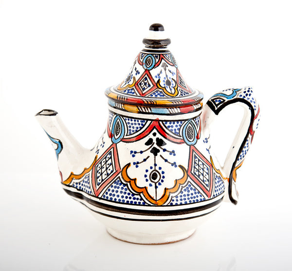 Berber Pattern Tea Pot