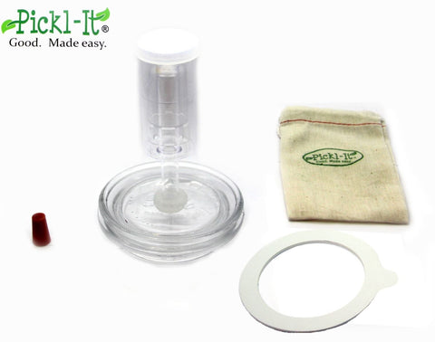 Original Pickl-It® Fermentation Lid Kit for Anaerobic Pickling - Na'vi Organics Ltd