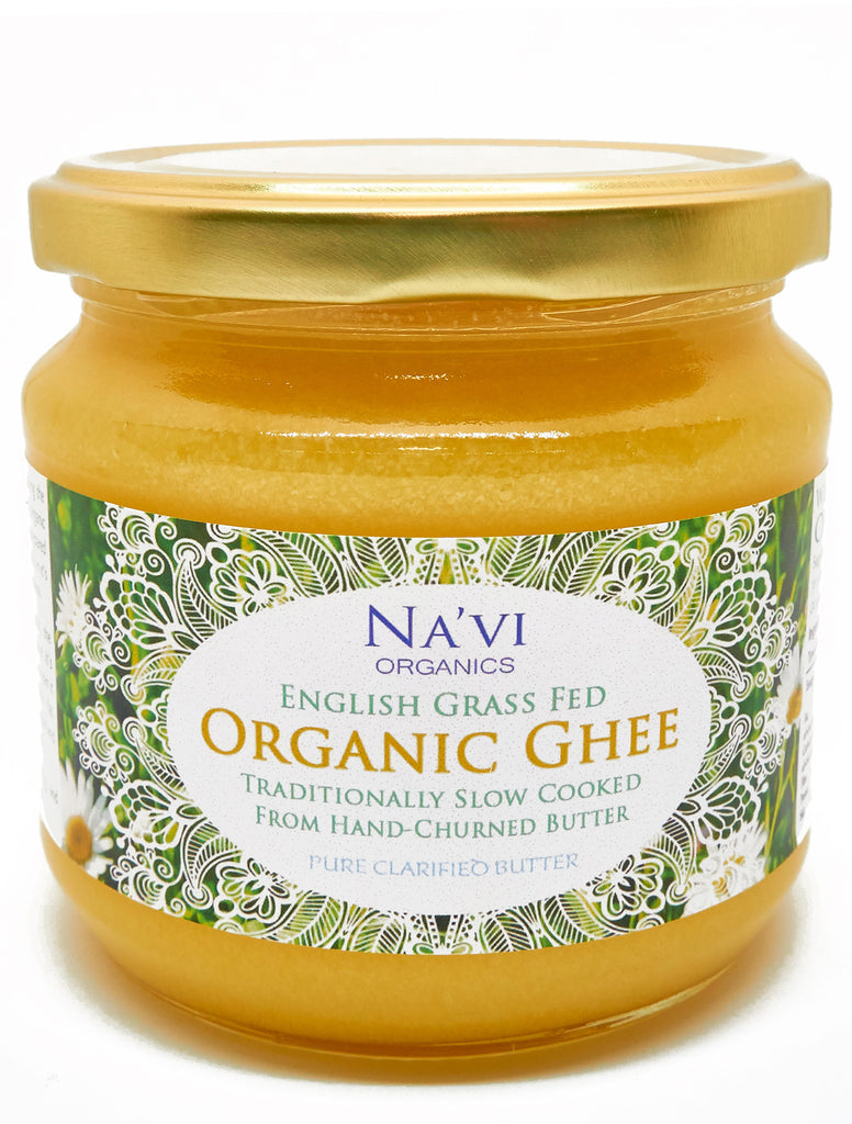 Organic English Ghee (Pasture Fed) - Na'vi Organics Ltd