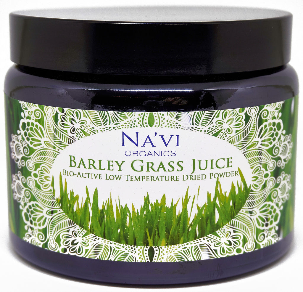250 gram tub of organic, raw Barley Grass juice superfood powder
