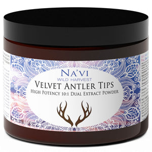 Sika Deer Velvet Antler Tips - Dual Extract Powder