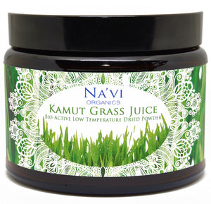 250 gram jar of Kamut Wheatgrass