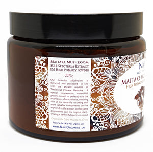 Full Spectrum Maitake Mushroom Extract Powder - Superior Quality - Na'vi Organics Ltd