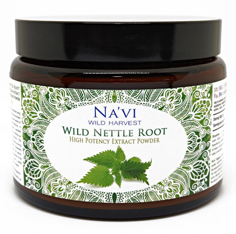 Full Spectrum Nettle Root Extract Powder - Wild Harvested