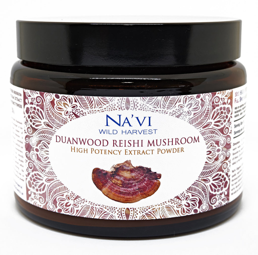 Full Spectrum Duanwood Reishi Mushroom (Dual Extraction) Extract Powder - Superior Quality