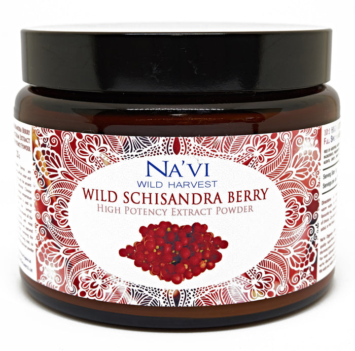 Full Spectrum Schisandra Berry  (Dual Extraction) Extract Powder - Wild Harvested