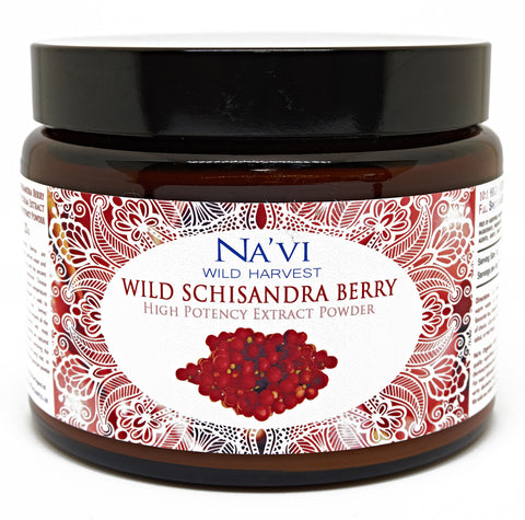 Full Spectrum Schisandra Berry Extract Powder - Wild Harvested - Na'vi Organics Ltd