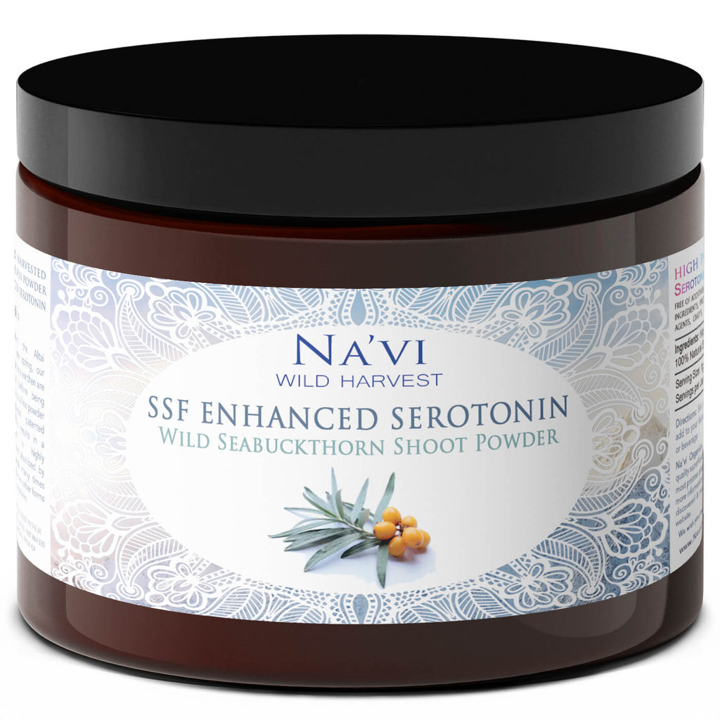Potentised Seabuckthorn Powder - Bioavailable Plant Serotonin