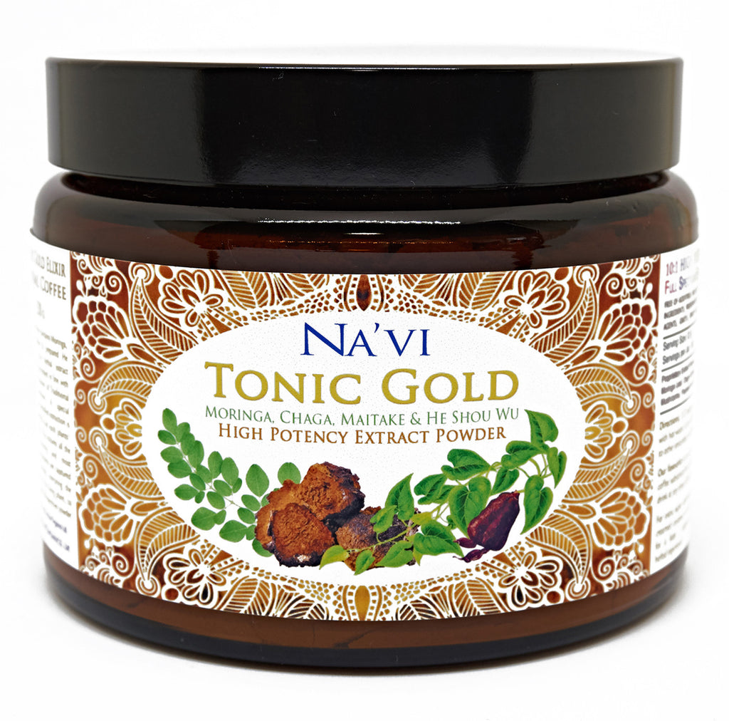 Tonic Gold - Herbal Coffee - Immune Boosting Antioxidant Elixir