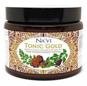250 gram jar of immune boosting Tonic Gold - Herbal Coffee