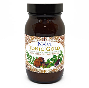 90 gram jar of immune boosting Tonic Gold