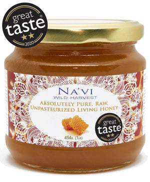 Raw Living Unheated Unprocessed Honey