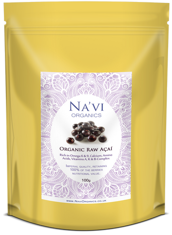 Premium Raw Organic Acai Berry Powder (Not freezed dried) - Na'vi Organics Ltd
